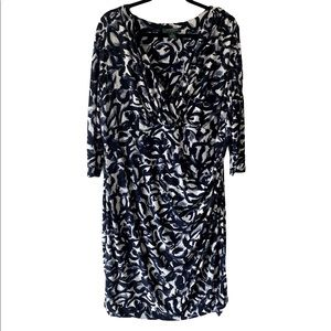 Ralph Lauren Faux Wrap Dress-Size 18W